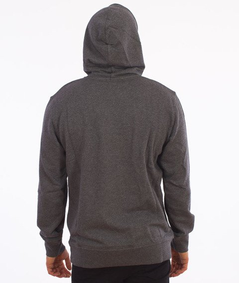 Carhartt-Hooded College Sweat Grey Heather/White