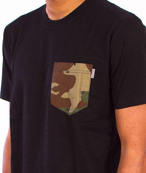 Carhartt-Lester Pocket T-Shirt Black/Camo 313