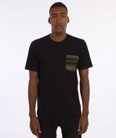 Carhartt-Lester Pocket T-Shirt Black/Ethnic Print-Green