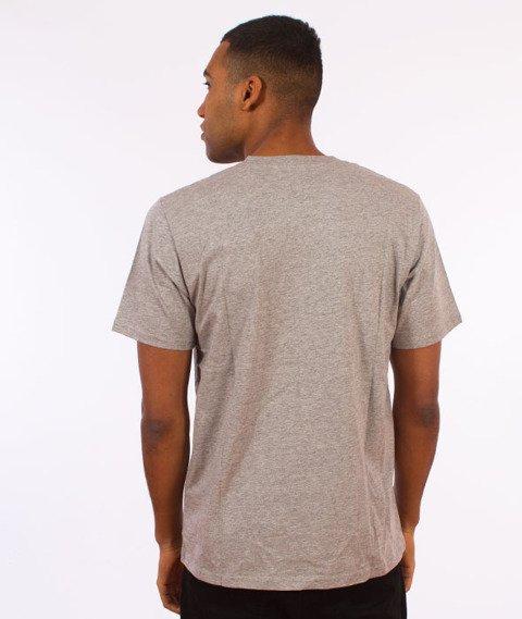 Carhartt WIP-Base T-Shirt Grey Heather/Black