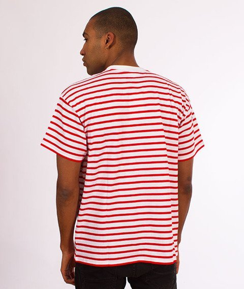 Carhartt WIP-Champ T-Shirt White/Red