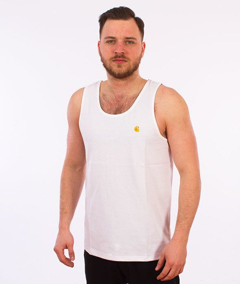 Carhartt WIP-Chase Tank Top White