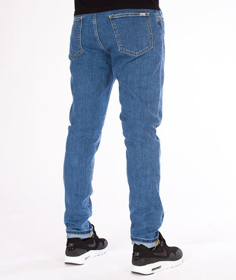 Carhartt WIP-Coast Pant Spodnie Blue Stone Bleached