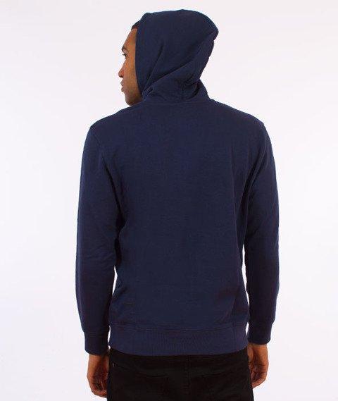 Carhartt WIP-Hooded College Sweat Bluza Kaptur Blue/Yellow
