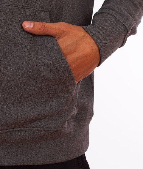 Carhartt WIP-Hooded College Sweat Bluza Kaptur Dark Grey Heather/White
