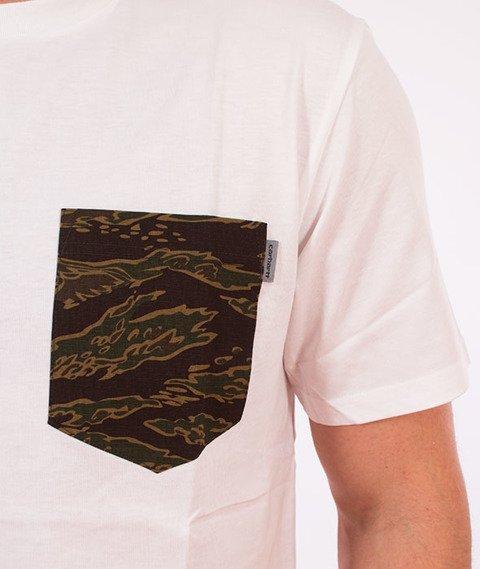 Carhartt WIP-Lester Pocket T-Shirt White/Camo Tiger