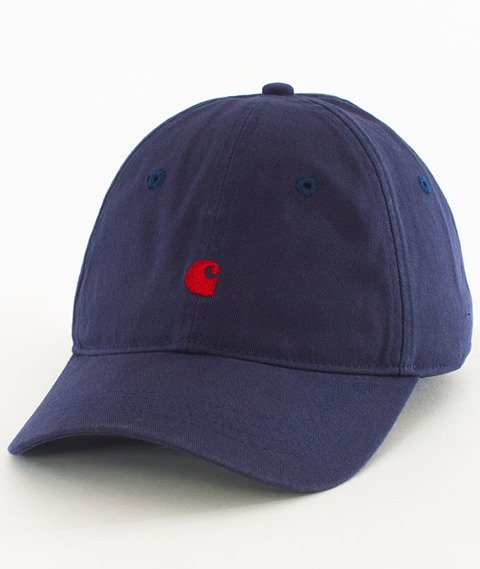 Carhartt WIP-Madison Cap Snapback Twill Blue