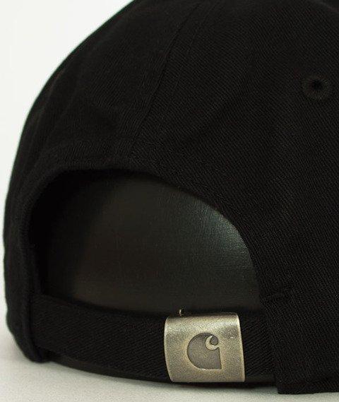 Carhartt WIP-Madison Logo Cap Snapback Twill Black/White