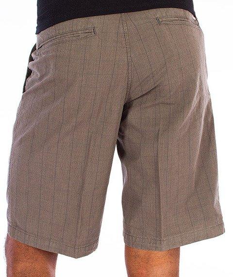 Carhartt WIP-Presenter Krótkie Spodnie Dumas Check/Graphite