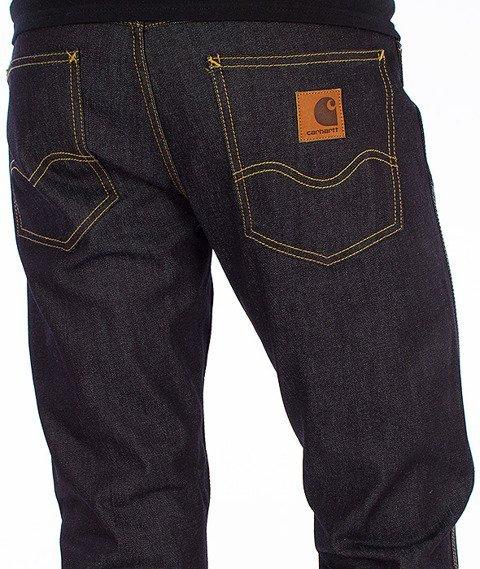 Carhartt-Western Pants Spodnie Blue Rigid Straight Leg L32