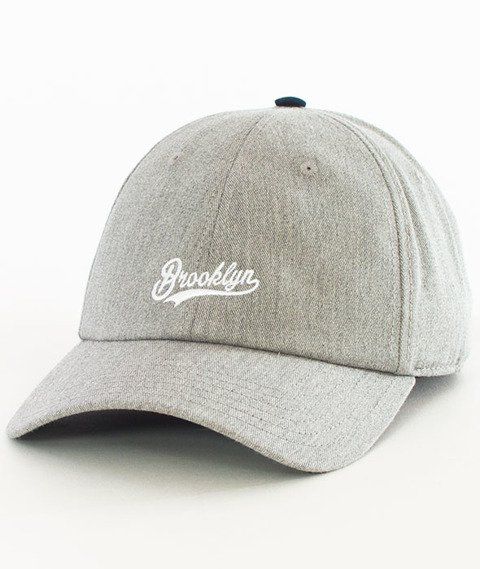 Cayler & Sons-BK Fastball Curved Strapback Grey