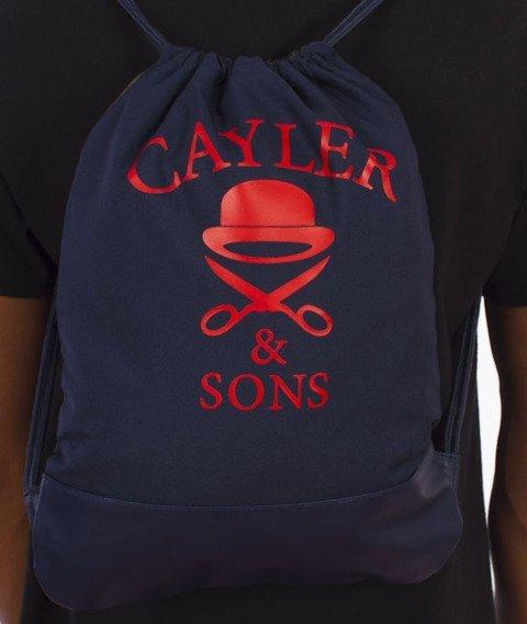 Cayler & Sons-BKNY Gym Bag Navy/Woodland Flowers/Multicolor