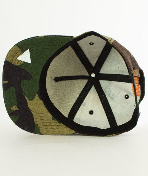 Cayler & Sons-BL Freedom Corps Snapback Woodland/White