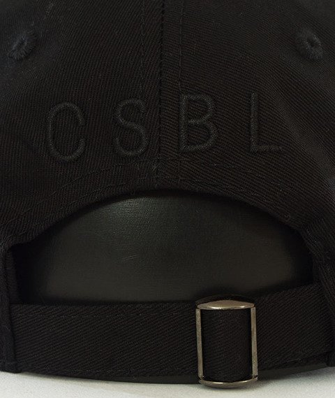 Cayler & Sons-BL Halfway Curved Strapback Black
