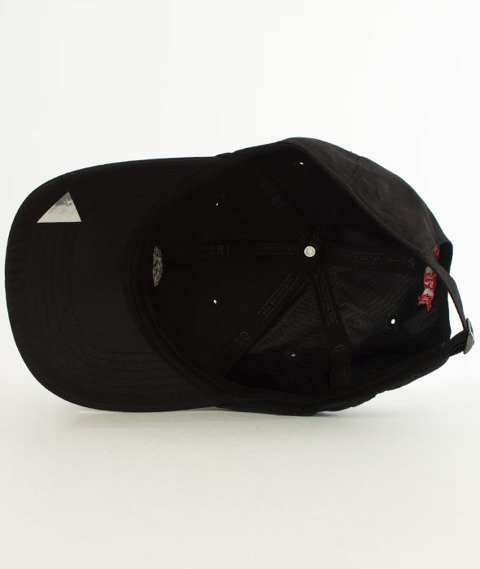 Cayler & Sons-BL Order Curved Snapback Black/Red