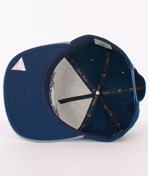 Cayler & Sons-Barber Cap Navy/Grey