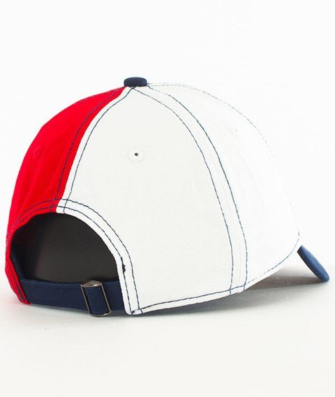 Cayler & Sons-Bucktown Curved Strapback Navy/White/Red