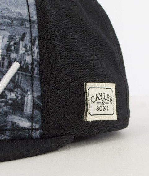 Cayler & Sons-Crooklyn Skyline Snapback Black/White