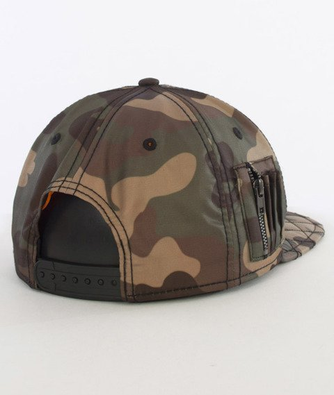 Cayler & Sons-Flight Cap Czapka Woodland/Black/Orange