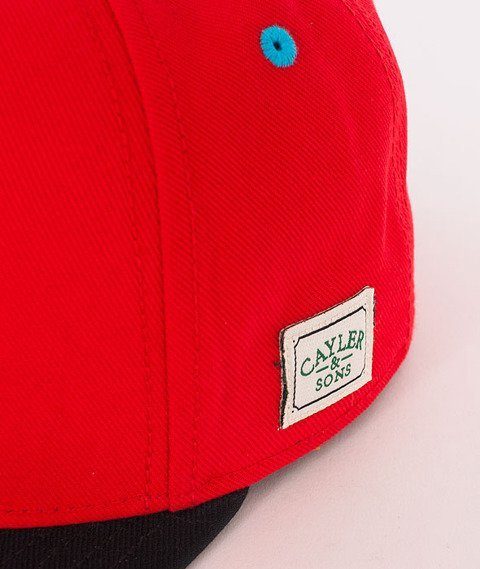 Cayler & Sons-Good Moods Cap Red/Black