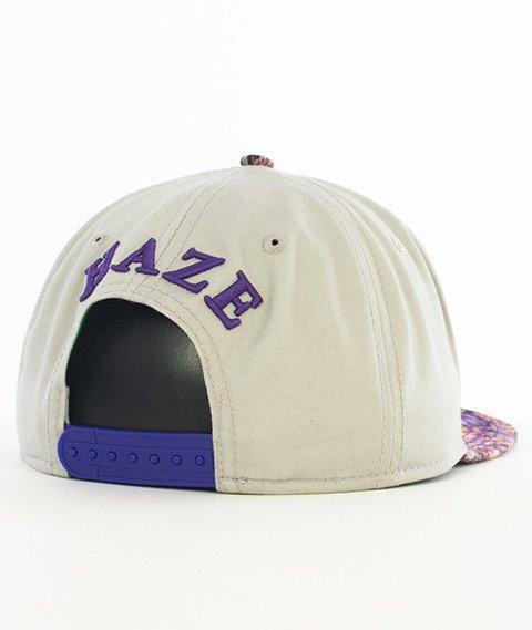 Cayler & Sons-Haze Classic Snapback Grey/Purple Haze