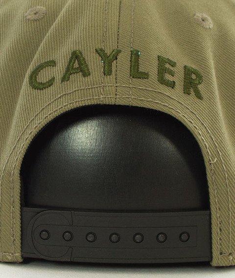 Cayler & Sons-WL Amsterdam Snapback Olive