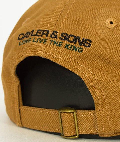 Cayler & Sons-WL Bedstuy Curved Snapback Sand/Mc