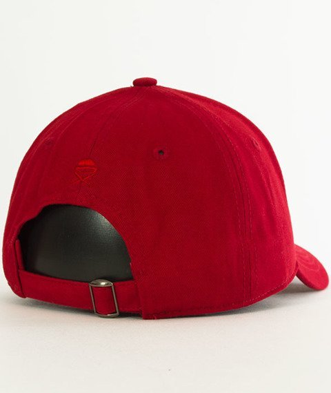 Cayler & Sons-WL Drop Out Curved Snapback Red/Orange