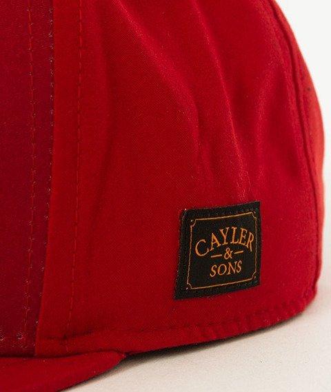 Cayler & Sons-WL Drop Out Snapback Red/Orange