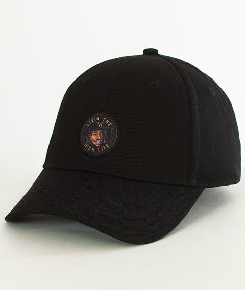 Cayler & Sons-WL Lifted Curved Snapback Black/Yellow