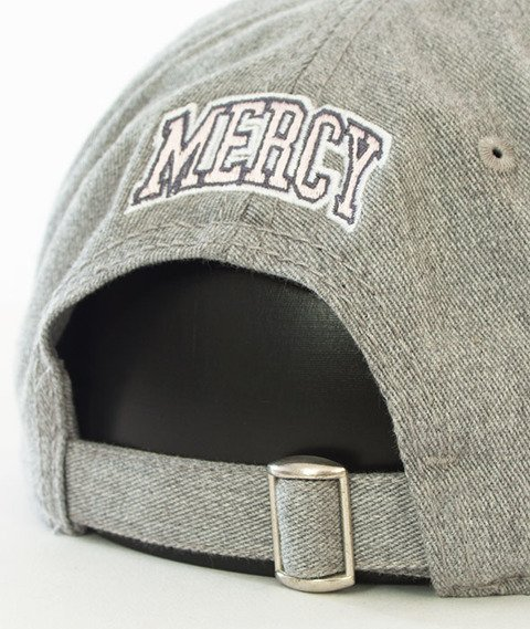 Cayler & Sons-WL Mercy Curved Strapback Grey Heather