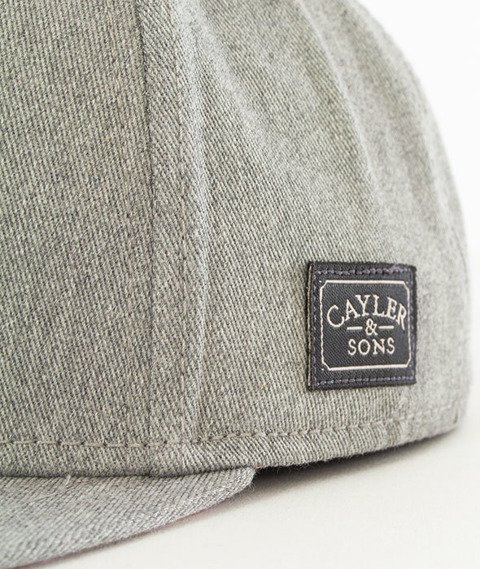 Cayler & Sons-WL Mercy Snapback Grey Heather
