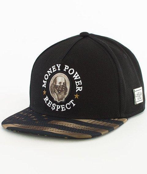 Cayler & Sons-WL Money Power Respect Snapback Black/Gold/White