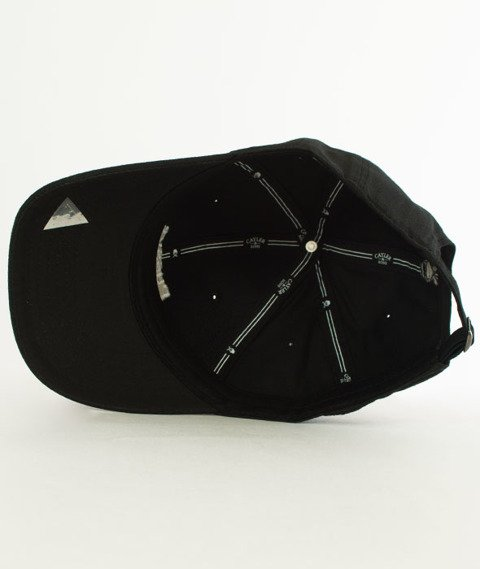 Cayler & Sons-WL PMW Snapback Curved Black/White