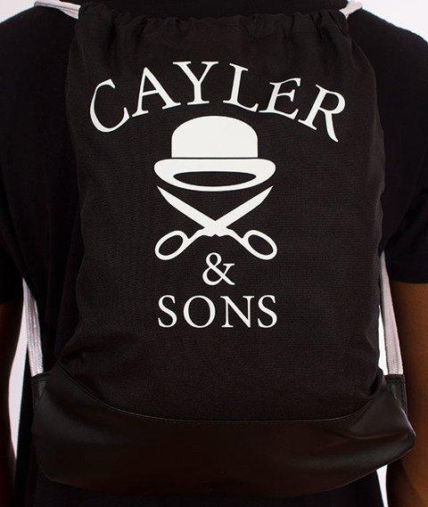 Cayler & Sons-WL Pacenstein Gym Bag Black/Purple