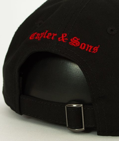 Cayler & Sons-WL Thorns Curved Snapback Black/White