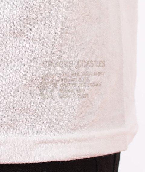 Crooks & Castles-Cryptic Medusa T-Shirt Biały