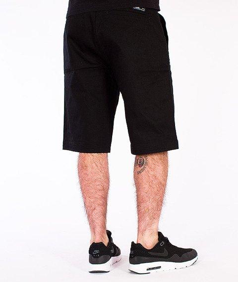 DGK-Street Chino Krótkie Spodnie Czarne