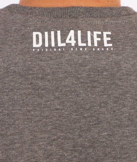 DIIL-Harvard Bluza Szary Melanż
