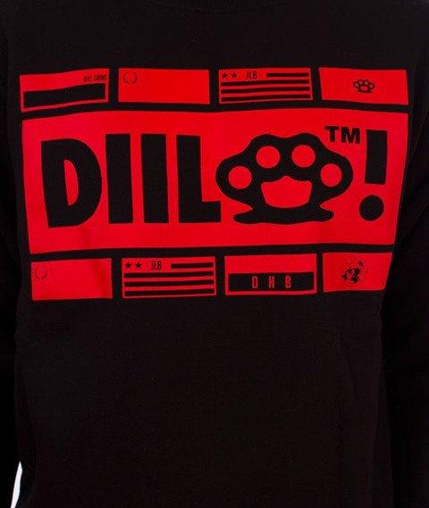 DIIL-Klasyk N.D.O Bluza Czarna/Czerwona