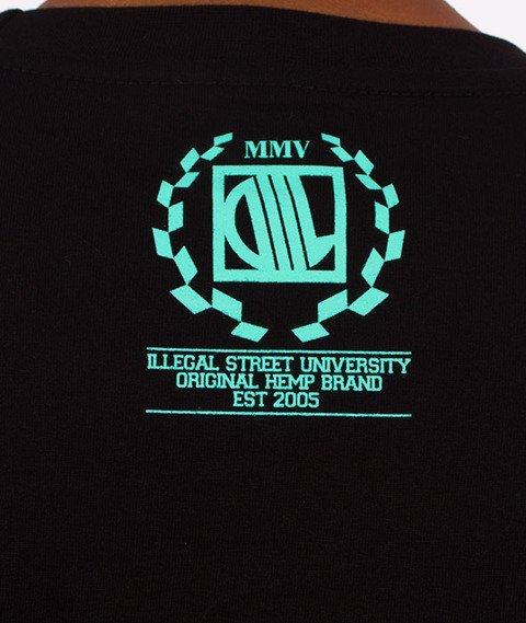 DIIL-Laur T-Shirt Czarny/Miętowy