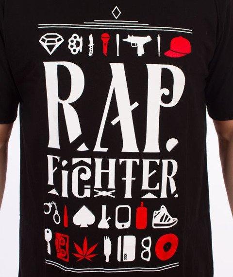 DIIL-Rap Fighter T-Shirt Czarny