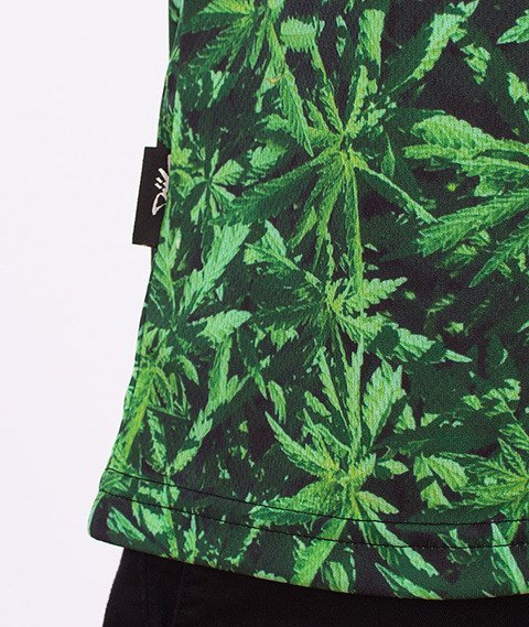 DIIL-Weed Tank Top Zielony