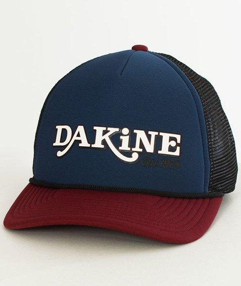 Dakine-Throw Back Czapka Trucker Midnight/Rosewood