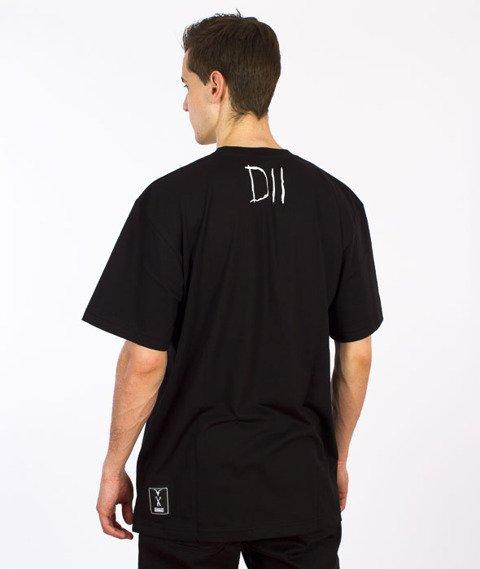 Demonologia-Czaszka T-shirt Czarny