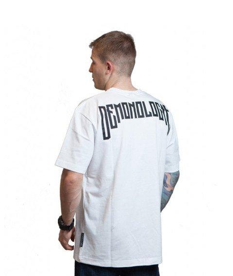Demonologia-Dama T-shirt Biały
