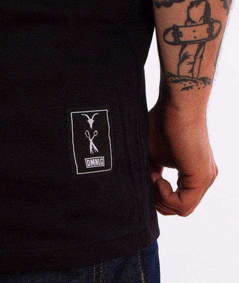 Demonologia-Skulls T-Shirt Czarny