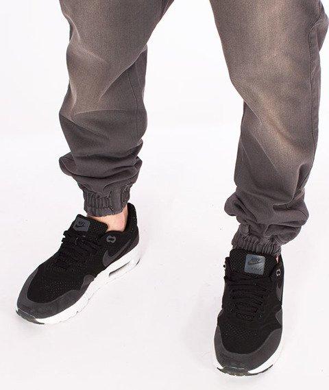 Diamante-Classic Jogger Jeans RM Pants Spodnie Szary Jeans