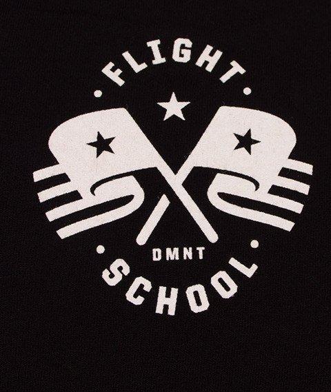 Diamante-Don't Make Me Walk T-Shirt Czarny