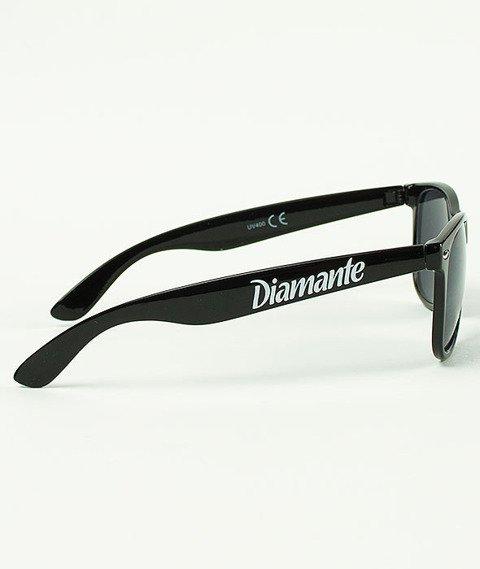Diamante-Party Hard Okulary Czarne